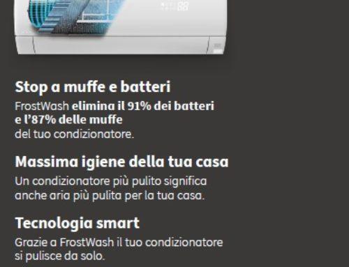 Hitachi nuovo sistema Frost Wash per split